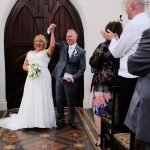 wedding aisle photo Sheffield