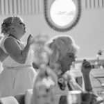 Wedding bubbles photo Nottingham